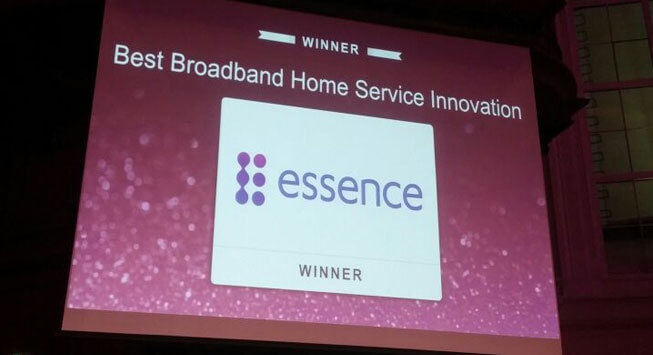 Essence wins Broadband Infovision Award