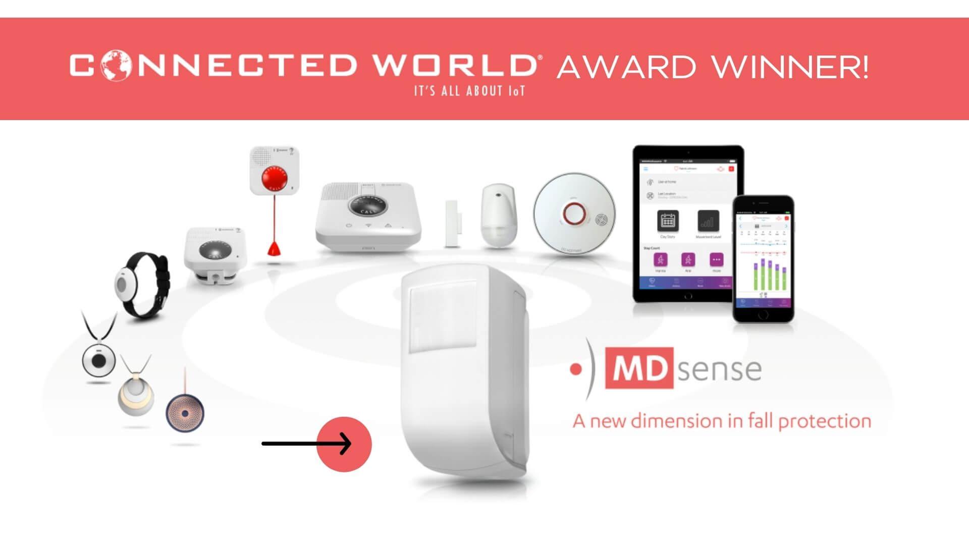 MDsense winner of IoT Innovations 2021